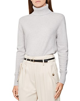 REISS - Clio Cashmere Turtleneck Sweater