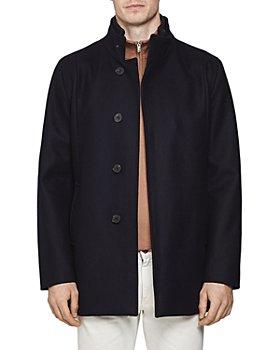 REISS - Angelo Wool-Blend Regular Fit Coat