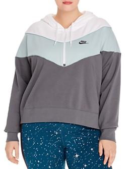 Nike Plus - Color-Block Hoodie