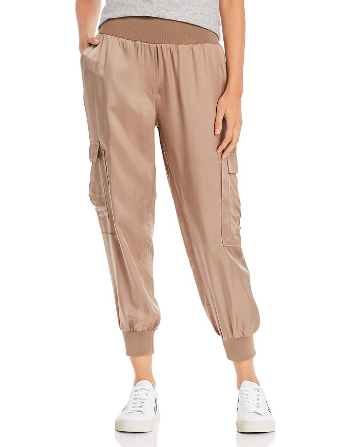 Cinq à Sept - Giles High-Waist Jogger Pants