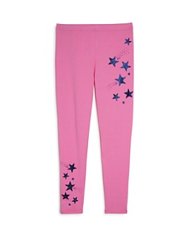 Mini Series - Girls' Glitter Star Leggings, Little Kid - 100% Exclusive