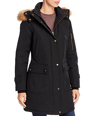 Pendleton Jackson Fur Trim Down Parka-Women