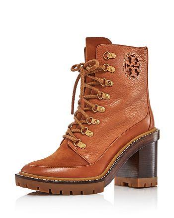 Tory Burch - Women's Miller Block Heel Hiker Boots
