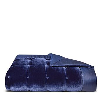 Yves Delorme - Cocon Velvet Counterpane Quilt