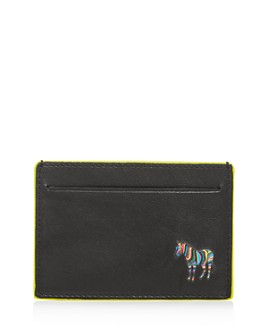 Paul Smith - Zebra Leather Card Case