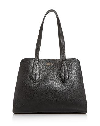 Diletta Leather Satchel by Furla