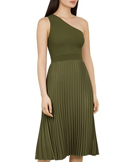 Ted Baker - Miriom One-Shoulder Mixed-Media Dress
