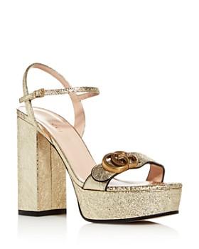 Gucci - Women's Galassia Block High-Heel Platform Sandals
