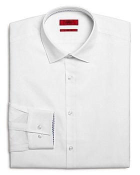HUGO - Koey Contrast-Cuff Regular Fit Dress Shirt