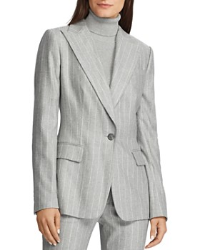 Ralph Lauren - Pinstriped Blazer
