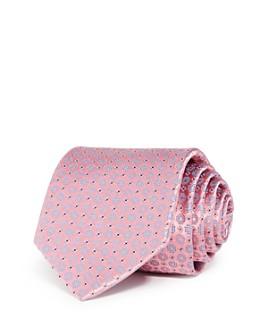 Eton - Medallion Grid Silk Classic Tie