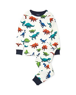 Hatley - Boys' Dino Print Tee & Dino Print Pants Pajama Set - Little Kid, Big Kid