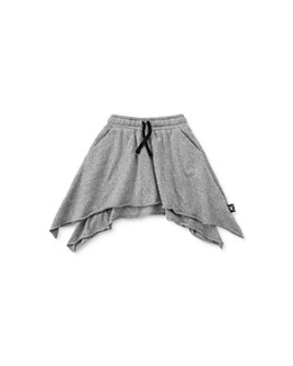NUNUNU - Girls' Tiered Drawstring Skirt - Big Kid