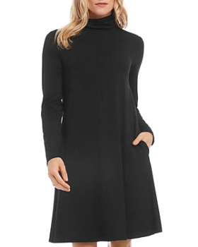 Karen Kane - Quinn A-line Turtleneck Dress