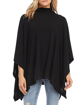 Karen Kane - Funnel-Neck Poncho Sweater