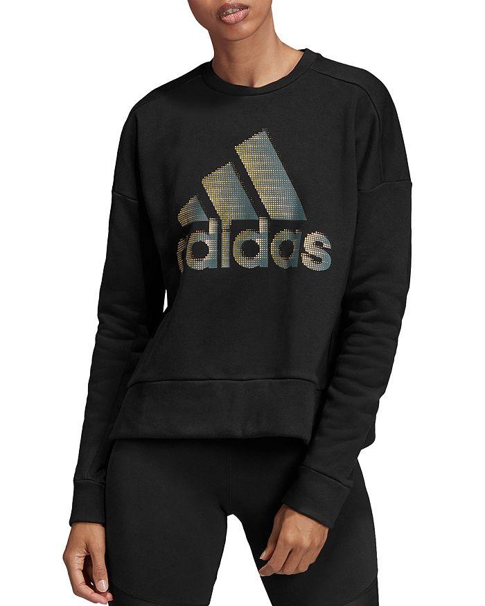 adidas fleece sweatshirt