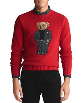 Polo Ralph Lauren - Suit Bear Wool Sweater