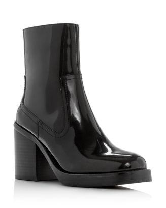 Women's Maxen Square Toe Platform Booties by Jeffrey Campbell