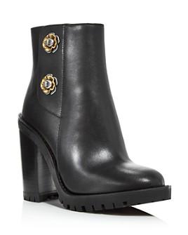 COACH - Women's Hana Block High-Heel Booties