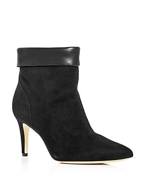 Via Spiga Boots WOMEN'S GIULIA POINTED-TOE BOOTIES