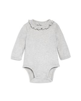 Oliver & Rain - Girls' Ruffle-Neck Bodysuit - Baby