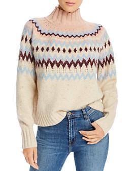 Rebecca Taylor - Fair Isle Turtleneck Sweater