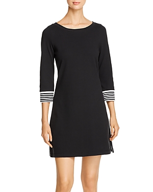 Tommy Bahama Striped-Cuff Knit Dress