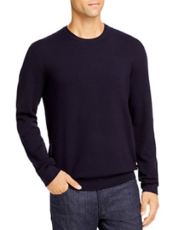 Armani - Textured Crewneck Pullover Sweater - 100% Exclusive