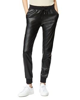 Habitual - Hadley Faux-Leather Jogger Pants
