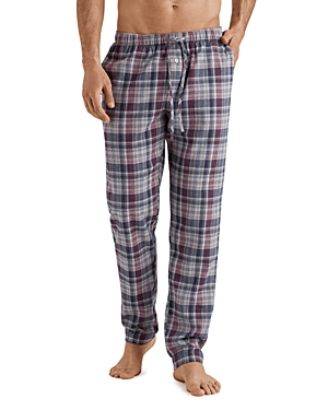 Hanro Pants THILO PLAID LOUNGE PANTS