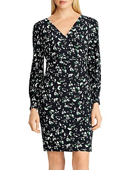 Ralph Lauren - Floral Shirred Jersey Dress