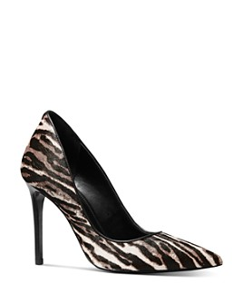 MICHAEL Michael Kors - Women's Keke Zebra-Print Pumps