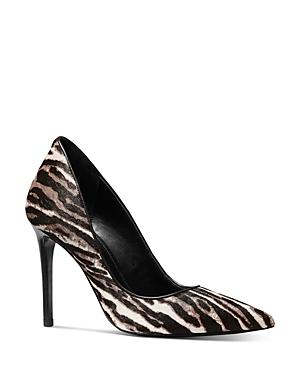 Michael Michael Kors Women's Keke Zebra-Print Pumps