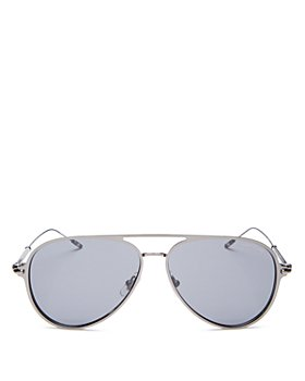 Montblanc - Men's Brow Bar Aviator Sunglasses, 59mm