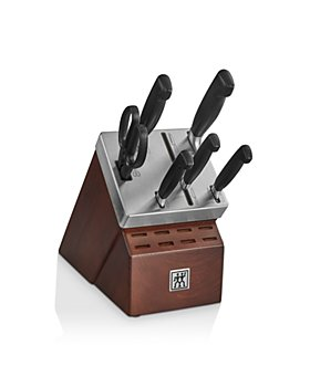 Zwilling J.A. Henckels - Four-Star Self-Sharpening 7-Piece Knife Block Set