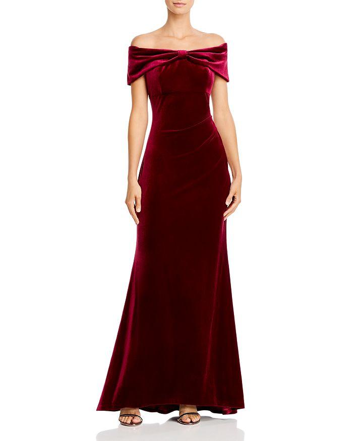 Eliza J - Off-the-Shoulder Bow Gown