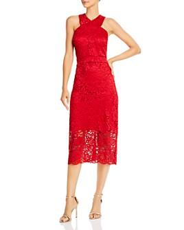Sam Edelman - Lace Halter Midi Dress