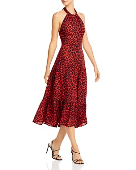 Sam Edelman - Leopard Print Halter Dress