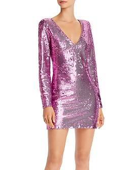 LIKELY - Beverly Sequined Mini Dress