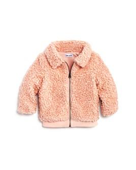 Splendid - Girls' Faux Fur Zip-Up Jacket - Baby