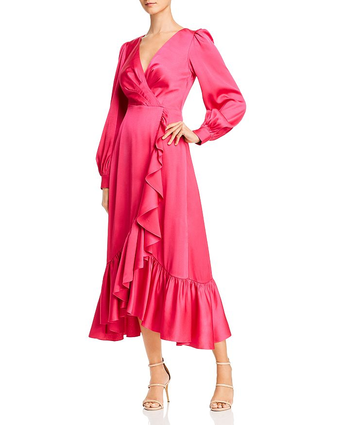 Sachin and Babi - Ruby Ruffled Crossover Maxi Dress