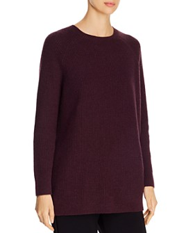 Eileen Fisher - Cashmere-Blend Waffle-Knit Sweater
