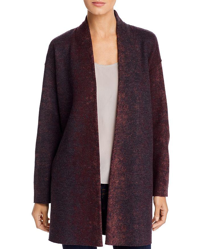 Eileen Fisher - Wool-Blend Long Open Coat