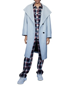 Maje - Gael Shawl-Collar Coat