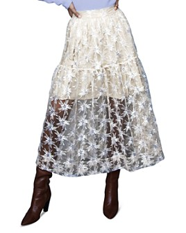 Maje - Jizio Sequined Star Midi Skirt