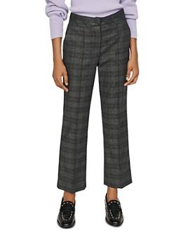 Maje - Panda Glen Plaid Pants