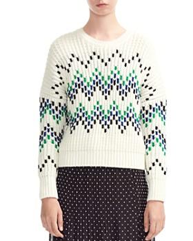 Maje - Massimo Zig-Zag Sweater