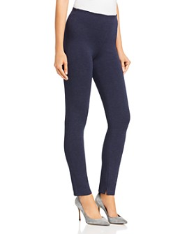 Theory - Notched-Hem Skinny Leggings