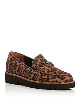 Paul Green - Women's Nandi Leopard-Print Platform Loafers - 100% Exclusive