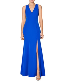 Laundry by Shelli Segal - Racerback Cutout Gown